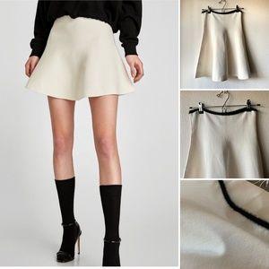 Zara Knit A-Line Skirt